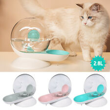 Round Shape Cat Water Fountain 2.8L Automatic Cat Dog Water Fountain Dispenser