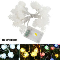 Guirlande lumineuse à LED Pin Cone Fairy Lights Christmas Tree Decor Lights DE
