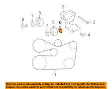 TOYOTA OEM-Serpentine Drive Belt Idler Pulley 1664931020
