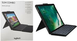 "Logitech iPad Slim Combo Case Wireless Smart Connector Keyboard iPad Pro 12.9"""
