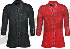 Lace Floral Blazer Coats & Jackets for Women
