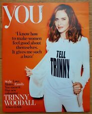 You Magazine TRINNY WOODALL cover and interview June 3 2018.
