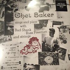 Chet Baker ‎– Sings And Plays With Bud Shank, Russ Freeman And Strings BRAND NEW