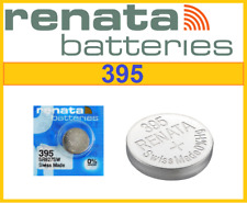 2xGenuine RENATA 395 SR927SW Swiss Watch Cell Batteries Silver Oxide 1.55V-07/19