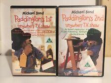 Paddington's 1st & 2nd Anywhen TV Show - Betamax EMI Pre Cert
