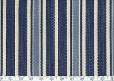Blue Cotton Drape Upholstery Fabric Ralph Lauren R$180y Colombier Stripe Cl Ink