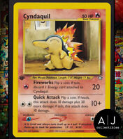 Cyndaquil 57/111 1st Edition Neo Genesis Non-Holo WOTC Pokemon Card TCG NM/MT