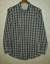 Men's  CARHARTT Relaxed Fit Long Sleeve  Button Shirt Sz Medium