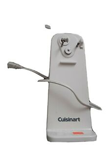 Cuisinart CCO-50BKN Deluxe Electric Can Opener - White