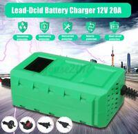12V 20A 80W Batterieladegerät Auto KFZ Akku Batterie Autobatterie  z