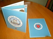 More details for unc 1990 isle of man coin set inc manx airlines jet plane £2 & trawler boat £5