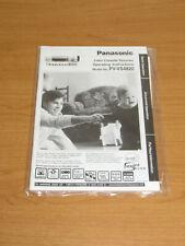 Genuine Original Panasonic PV-VS4820 VCR Owner's Manual / Operating Instructions