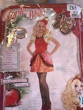 Halloween Costume Princess Apple White Child Ever After High Medium 8-10