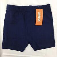 New Gymboree Kid Girls Navy Blue Bike Shorts Knit Cotton Stretch 4 5 7 8 10