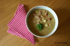 Erbsensuppe, Eintopf, Suppe, 600 g, Vollkonserve, ideal f. Camping 5,50€/kg