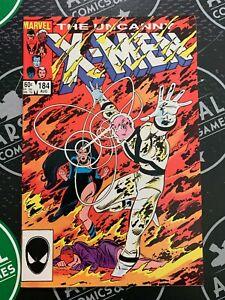 Uncanny X-Men #182 & 184 1984 Wolverine Storm Marvel Comics 1st app Forge!