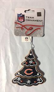 Chicago Bears Gingerbread Tree Christmas Tree Xmas Ornament NEW - TREE