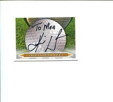 Karrie Webb Australia LPGA Golf Golfer Champion HOF  Signed The Autograph Card