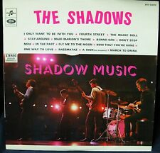 THE SHADOWS - SHADOW MUSIC - LP - FRENCH ISSUE - COLUMBIA SCTX340370 STEREO