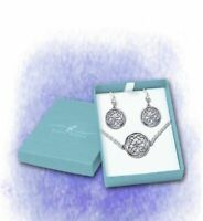 Celtic Love Knot Gift Set 925er Silver Symbol Jewelry - New