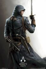 ASSASSIN'S CREED UNITY ~ ARNO DORIAN READY 22x34 Video Game POSTER NEW/ROLLED!