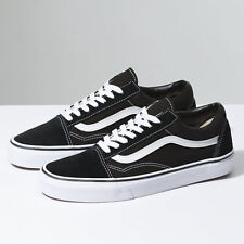 25e6ac440f9d27 New Men and Women Vans Old Skool Black Skateboarding Shoes Classic Canvas  Suede