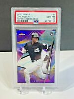 2020 Topps Finest Luis Robert Purple Refractor /250 Rookie PSA 10 Gem Mint 94 RC