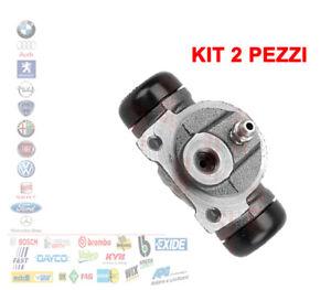 KIT 2 PEZZI CILINDRETTO FRENO FIAT GRANDE PUNTO DOBLO 05 IDEA NEW FIORINO 90277