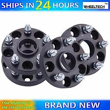 4 Pcs 5x4.5 Black fit 1998-2015 Honda Accord Hub Centirc 1 inch Wheel Spacers