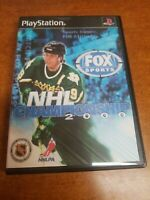NHL Championship 2000 (Sony PlayStation 1, 1999)(Tested)