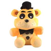 "FNAF Sanshee Plushie Five Nights at Freddy's Toys 6"" Plush Golden Bear Kids Toy"
