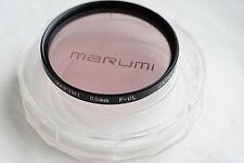 GENUINE MARUMI  55mm filter F-DL  JAPAN EXCELLENT