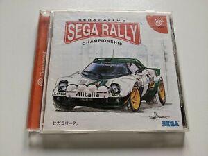 Sega rally 2 Dreamcast