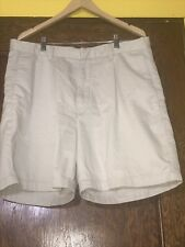 Men's Banana Republic Khaki Shorts Size 36 100% Cotton Casual Slim Summer C1
