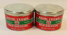 ROYAL CROWN HAIR DRESSING POMADE *2LOT*  (5OZ)