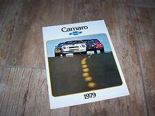Catalogue  / Brochure  CHEVROLET Camaro 1979 //