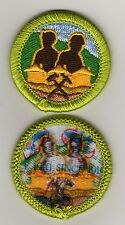 """Mining In Society Merit Badge, Type L, """"Since 1910"""" Back (2013-Current)"""