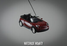 Austin Mini Cooper S Cabriolet Christmas Ornament 1/64 BMW Convertible Cabrio