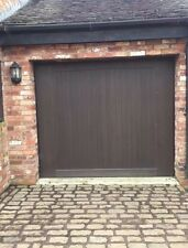 WESSEX Up And Over Avonbrook Garage Door With Electric Merlin Motor.