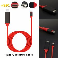 Type-C Male to HDMI Male Adapter Cable USB 3.1 4K HD For MacBook MacBook Pro