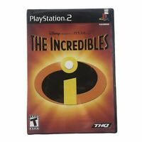 The Incredibles (Sony PlayStation 2, 2004) Brand New Factory Sealed