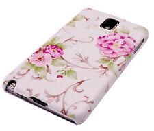 Hülle f Samsung Galaxy Note 3 II N9000 Tasche Cover Schutzhülle Blumen Backcover