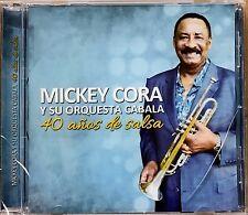 MICKEY CORA Y LA ORQUESTA CABALA - 40 AÑOS - CD