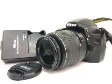 Nikon D3200 24.2MP DSLR Camera w/ AF-S 18-55mm Lens, Low Shutter Count 2635