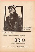 Pubblicità Advertising 1954 rossetto BRIO MUSSO PROFUMI
