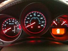 USA 04-06 Acura TL Type-S SILVER Face RED Glow Gauges for Instrument Cluster