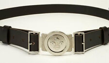 SCOUT CUB BEAVER LEATHER BELT AND BUCKLE M/L NEW STYLE