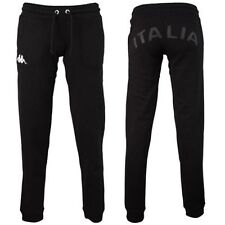 1102 XS MUJER ITALIE RUGBY FIR PANTALONES CHÁNDAL LADY GIMNASIO FITNESS EN NEGRO