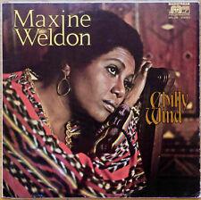 "LP - MAXINE WELDON - ""CHILLY WIND"" -  MAINSTREAM - 1979 - MRL 339"