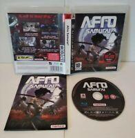 Afro Samurai - Jeu PS3 - Region Free / Dezoné Français - Complet -  Comme neuf